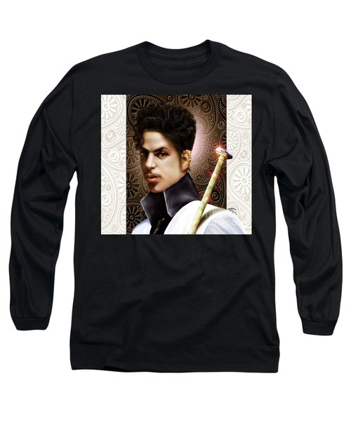 Forevermore The Young Prince Of Paisley 1a Long Sleeve T-Shirt