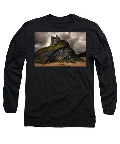 Forgotten Castle In Ballybunion Long Sleeve T-Shirt