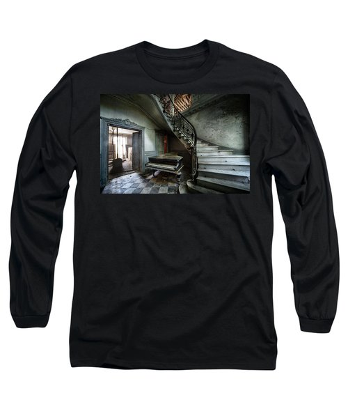 The Sound Of Decay - Abandoned Piano Long Sleeve T-Shirt