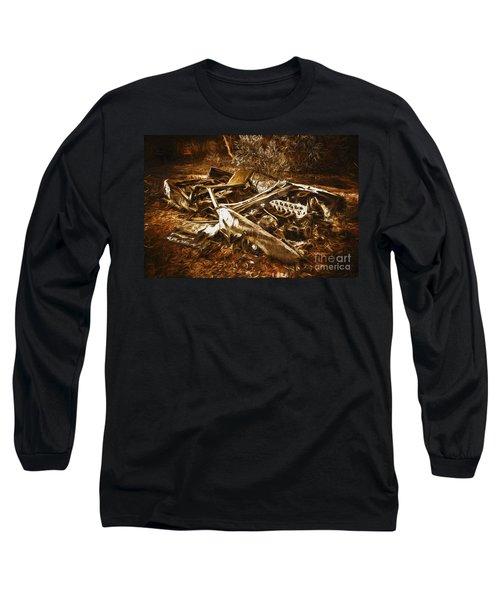 Forgotten Wheels Of Yesterday Long Sleeve T-Shirt