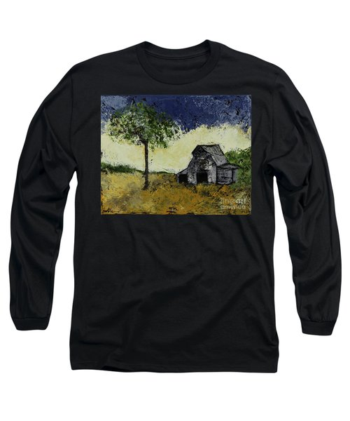 Forgotten Yesterday Long Sleeve T-Shirt by Kirsten Reed