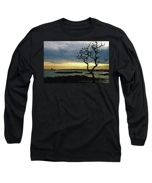 Fort Foster Tree Long Sleeve T-Shirt