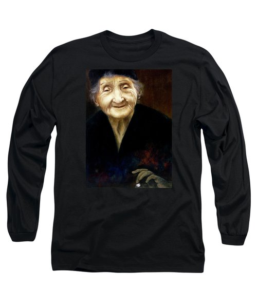 Fortune Teller Long Sleeve T-Shirt by Yvonne Wright
