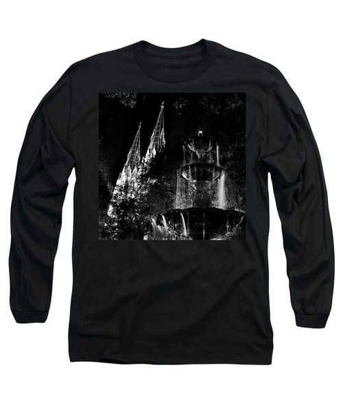 Fountain And Spires Long Sleeve T-Shirt