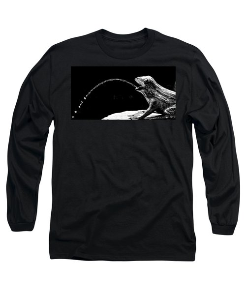Fountain Frog Long Sleeve T-Shirt
