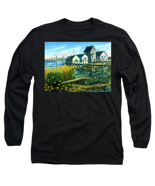 High Tide In Broad Channel, N.y. Long Sleeve T-Shirt