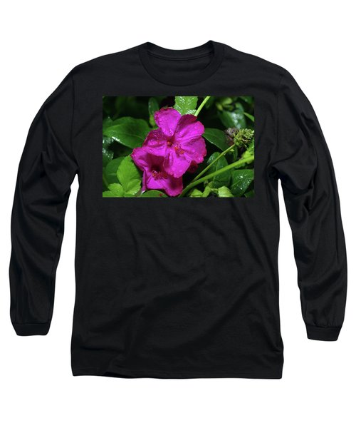 Long Sleeve T-Shirt featuring the photograph Four O'clock At 9am  by Richard Rizzo