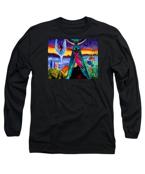 Flight Long Sleeve T-Shirt by Marina Petro