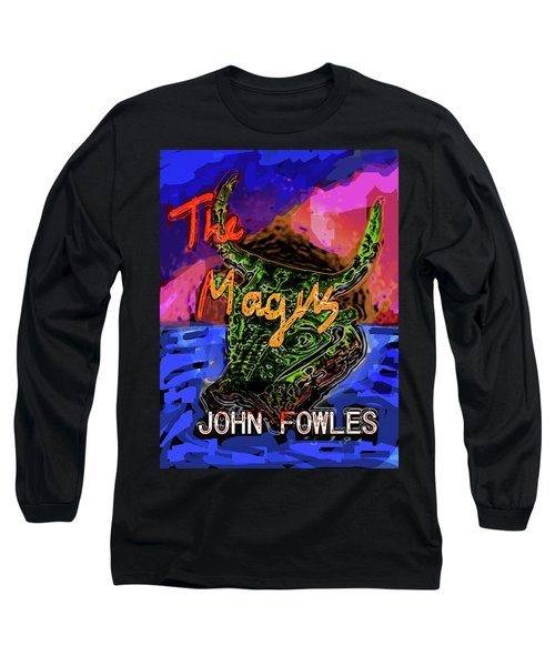 Fowles Magus Poster  Long Sleeve T-Shirt