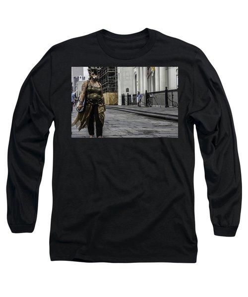 Foxy Lady, New Orleans, Louisiana Long Sleeve T-Shirt