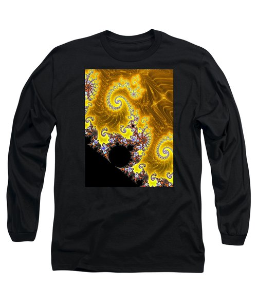 Long Sleeve T-Shirt featuring the photograph Fractal Coastline by Ronda Broatch