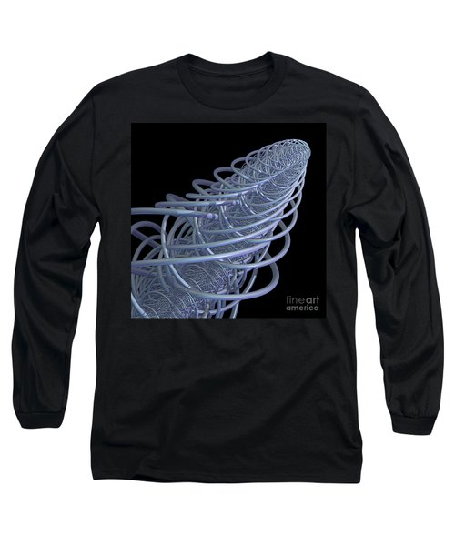 Fractal Comet Long Sleeve T-Shirt