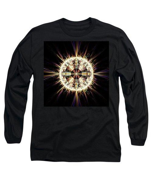 Fractal Jewel Long Sleeve T-Shirt