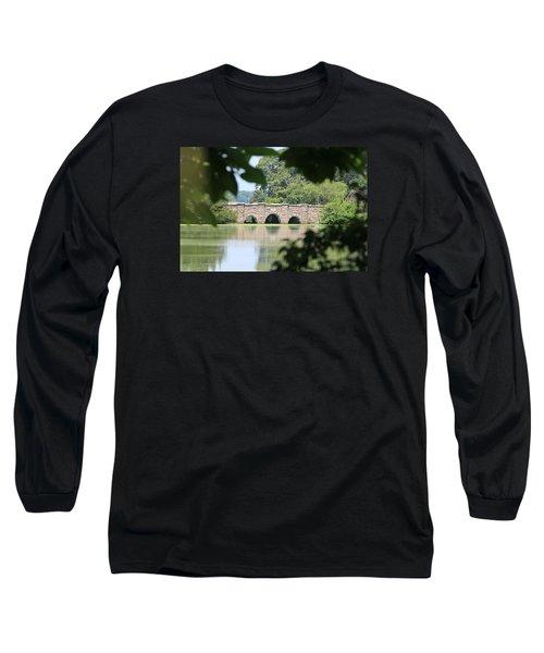 Frank Melville Memorial Park Setauket New York Long Sleeve T-Shirt by Bob Savage