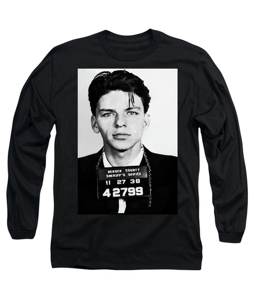 Frank Sinatra Mugshot Long Sleeve T-Shirt