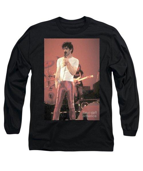 Frank Zappa Painting Long Sleeve T-Shirt
