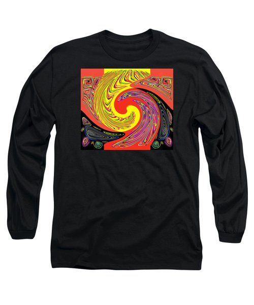 Long Sleeve T-Shirt featuring the photograph Frantic Life by Jim Moore