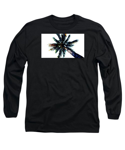 Frazzled Palm Tree Long Sleeve T-Shirt