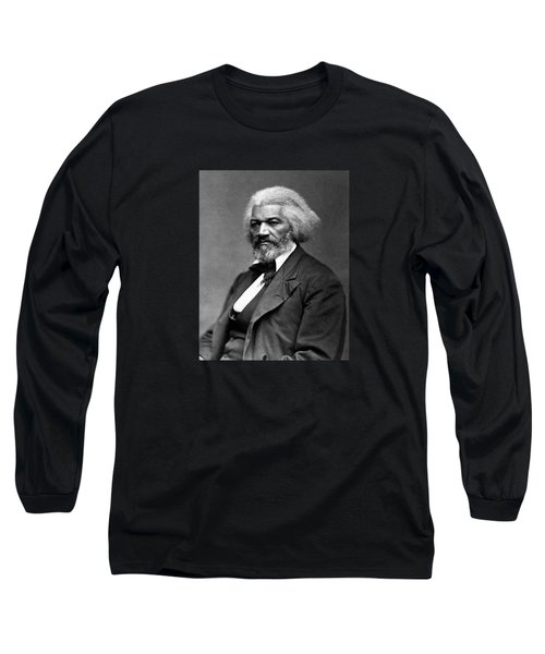 Frederick Douglass Photo Long Sleeve T-Shirt