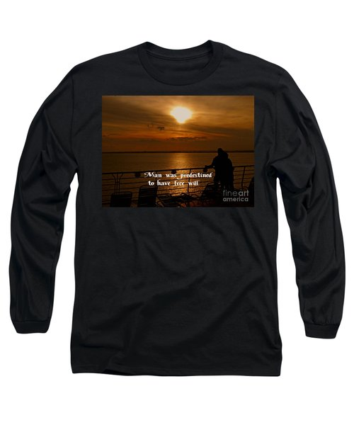 Long Sleeve T-Shirt featuring the photograph Free Will by Gary Wonning