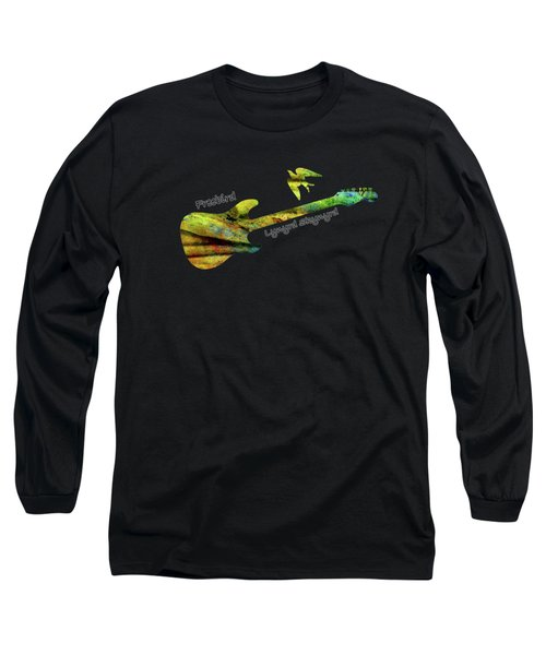 Freebird Lynyrd Skynyrd Ronnie Van Zant Long Sleeve T-Shirt