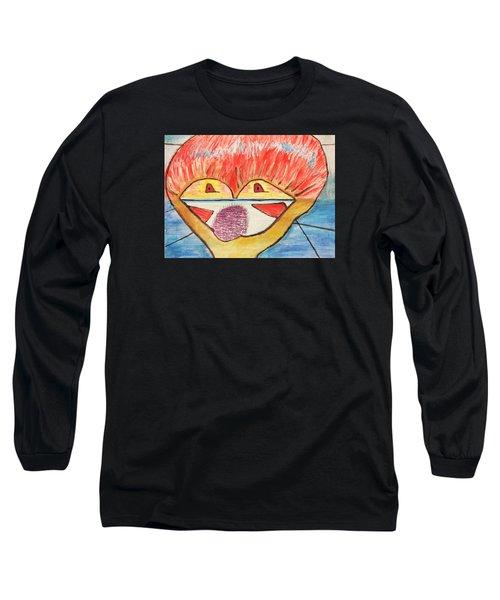 Freedom Brings New Dream Long Sleeve T-Shirt by Jose Rojas