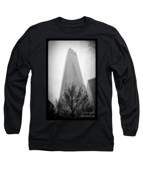 Long Sleeve T-Shirt featuring the photograph Freedom Tower 2 by Paul Cammarata