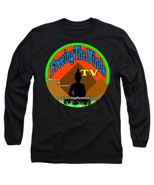 Freeing The Minds Supporter Long Sleeve T-Shirt