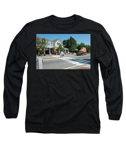Freeport, Maine #130398 Long Sleeve T-Shirt
