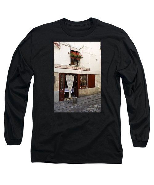 French Bistro Long Sleeve T-Shirt by Perry Van Munster