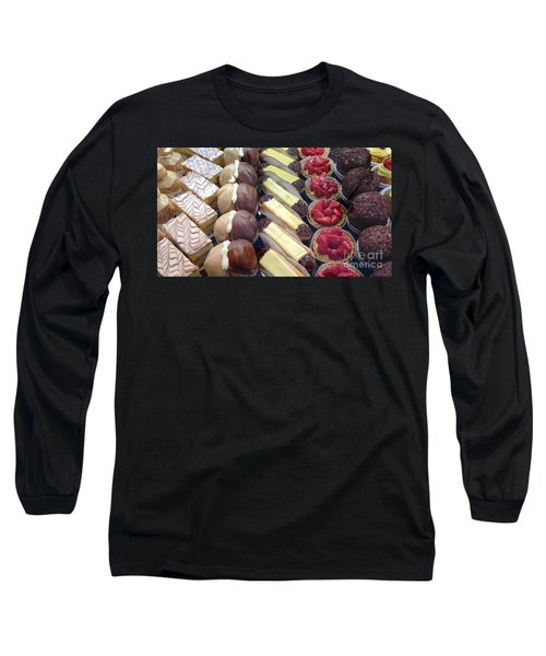 Long Sleeve T-Shirt featuring the photograph French Delights by Therese Alcorn