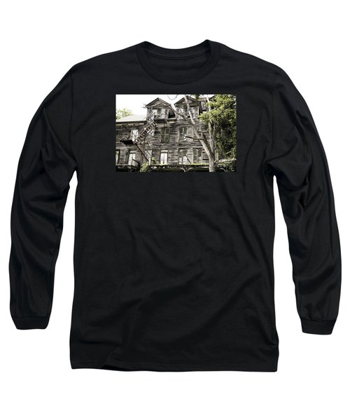 French Doors And Fire Escapes Long Sleeve T-Shirt