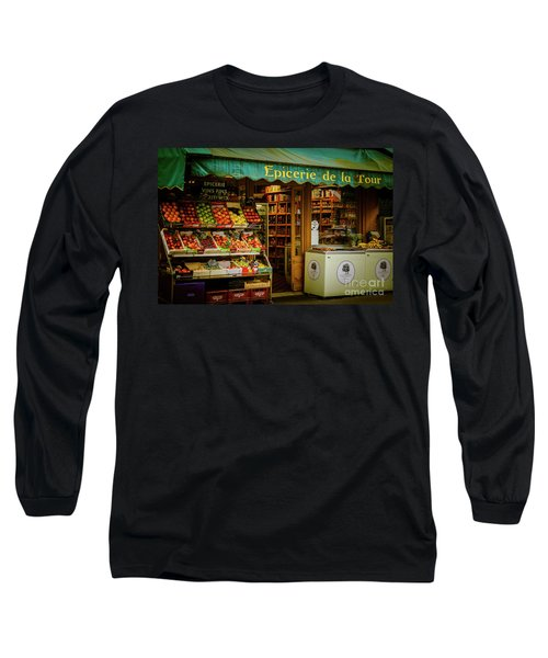 French Groceries Long Sleeve T-Shirt