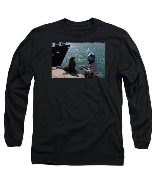 Friendly Seal Long Sleeve T-Shirt