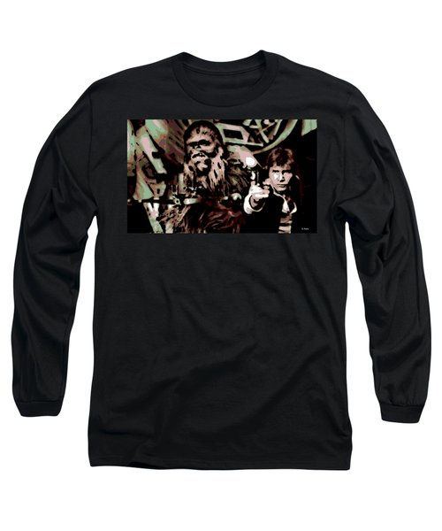Friends Long Sleeve T-Shirt by George Pedro