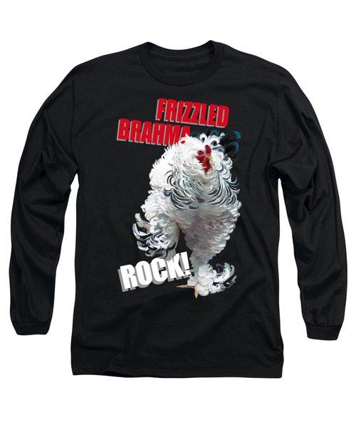 Frizzled Brahma T-shirt Print Long Sleeve T-Shirt