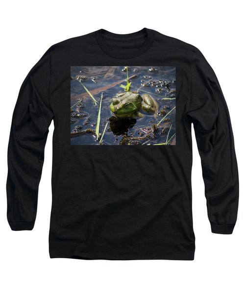 Frog  Long Sleeve T-Shirt by Trace Kittrell
