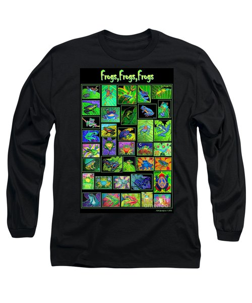 Frogs Poster Long Sleeve T-Shirt
