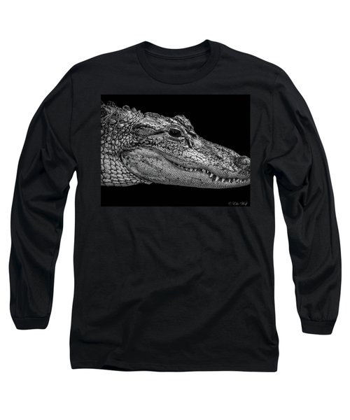 From The Series I Am Gator Number 9 Long Sleeve T-Shirt