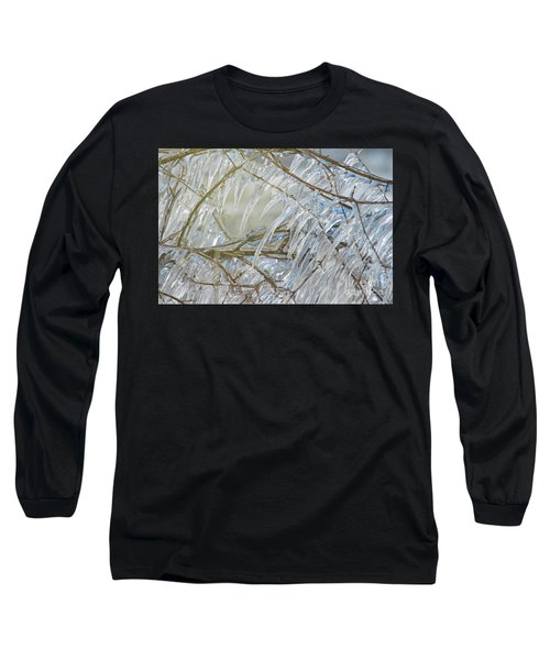 Long Sleeve T-Shirt featuring the photograph Frostbite.. by Nina Stavlund