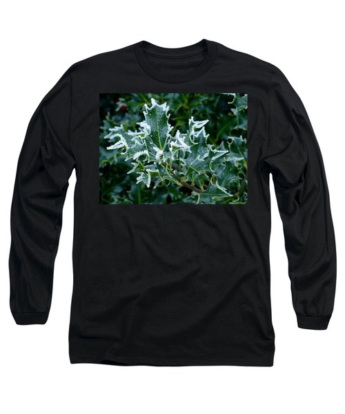 Frosted Holly Long Sleeve T-Shirt