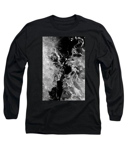 Frozen Illusion Long Sleeve T-Shirt by Konstantin Sevostyanov