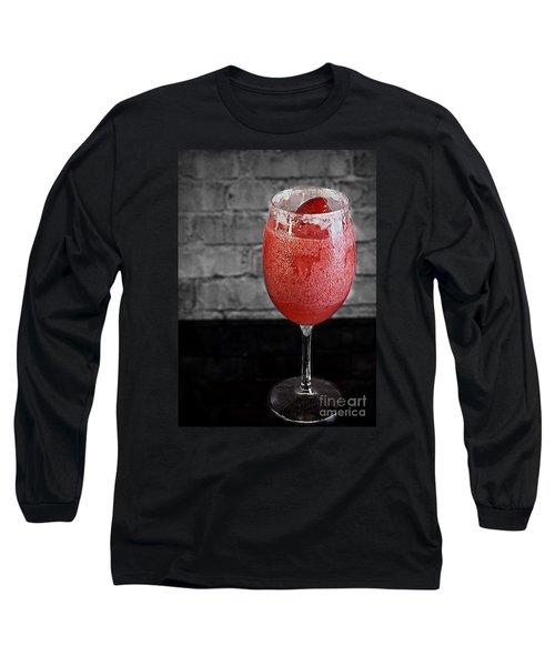 Frozen Strawberry Daiguiri Long Sleeve T-Shirt