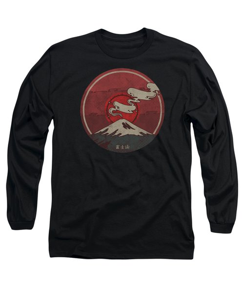 Fuji Long Sleeve T-Shirt by Hector Mansilla