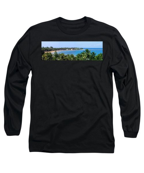 Full Beach View Long Sleeve T-Shirt