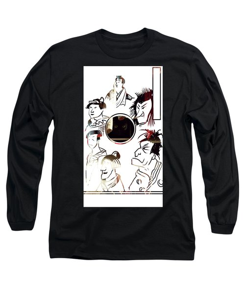 Full Circle Eyes Long Sleeve T-Shirt