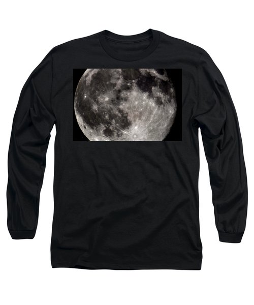 Full Moon 7-31-15 Long Sleeve T-Shirt