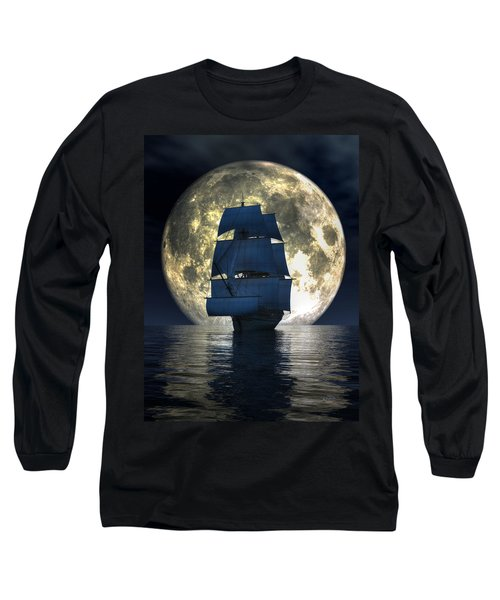 Full Moon Pirates Long Sleeve T-Shirt