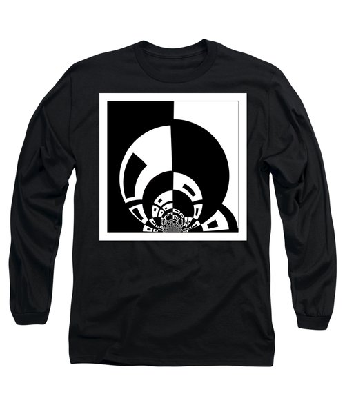 Long Sleeve T-Shirt featuring the digital art Full Moon Rising by Wendy J St Christopher