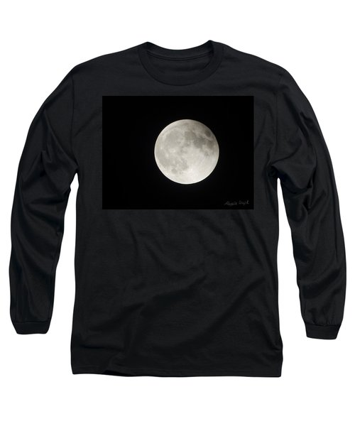 Full Planet Moon Long Sleeve T-Shirt